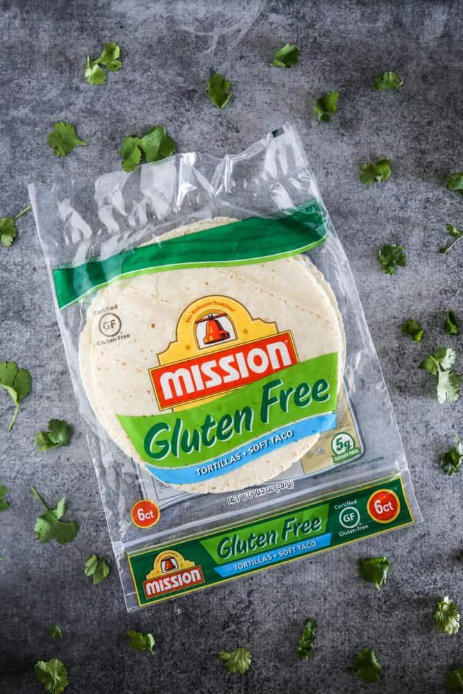 gluten free mission tortillas
