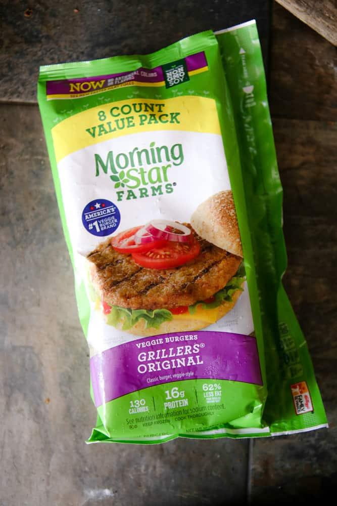 morningstar burgers product