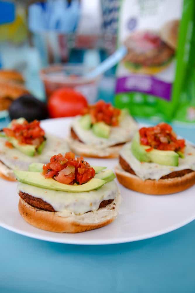 The Arizona Burger Recipe without top bun