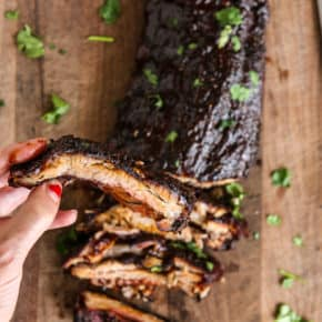 Grilled Cajun Ribs by Eclectic Recipes