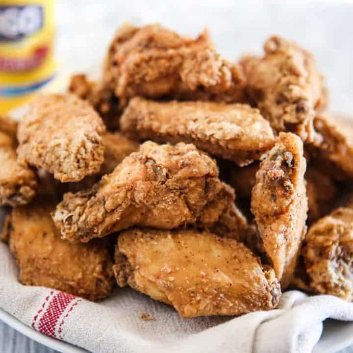 Crispiest Fried Chicken Wings Recipe