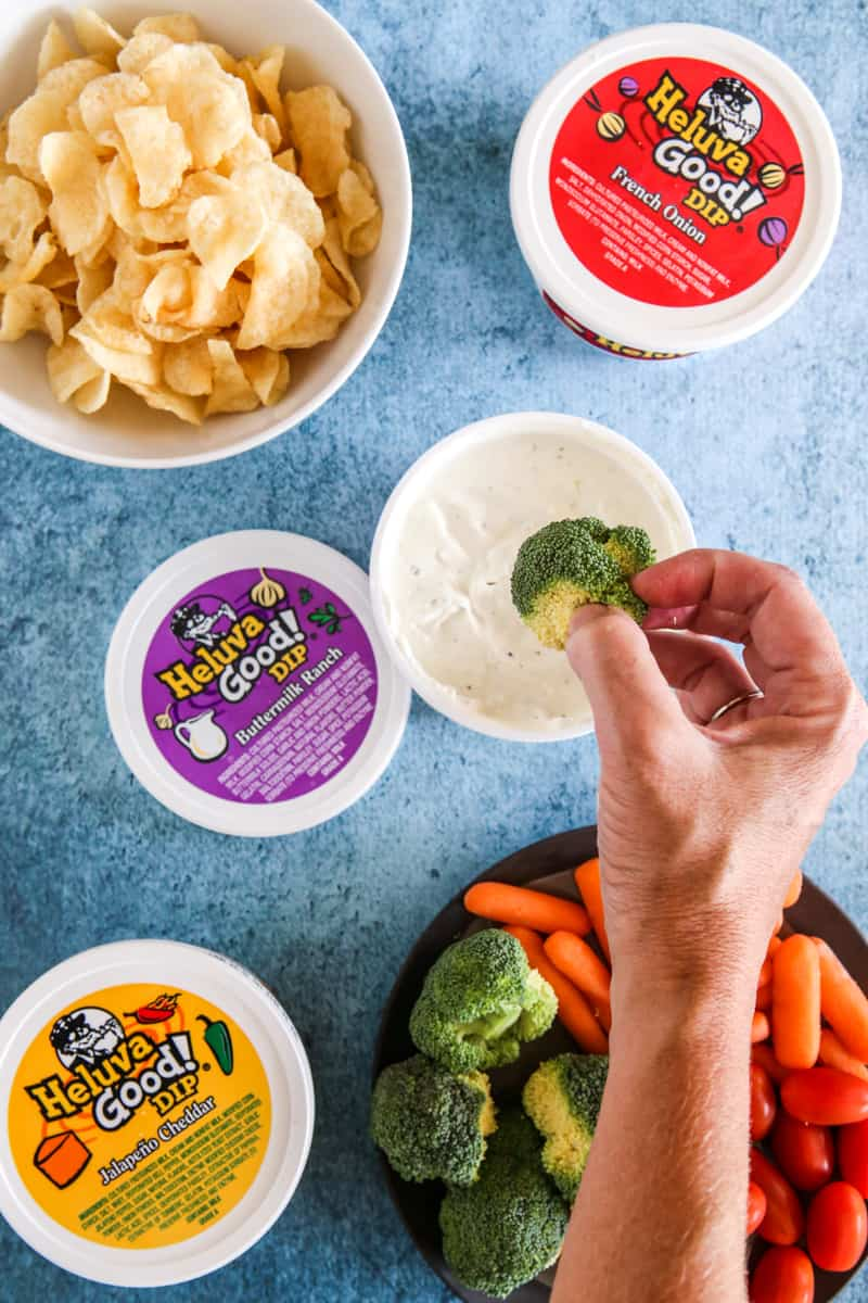 Taking a Dip with Heluva Good! Dip Recipe