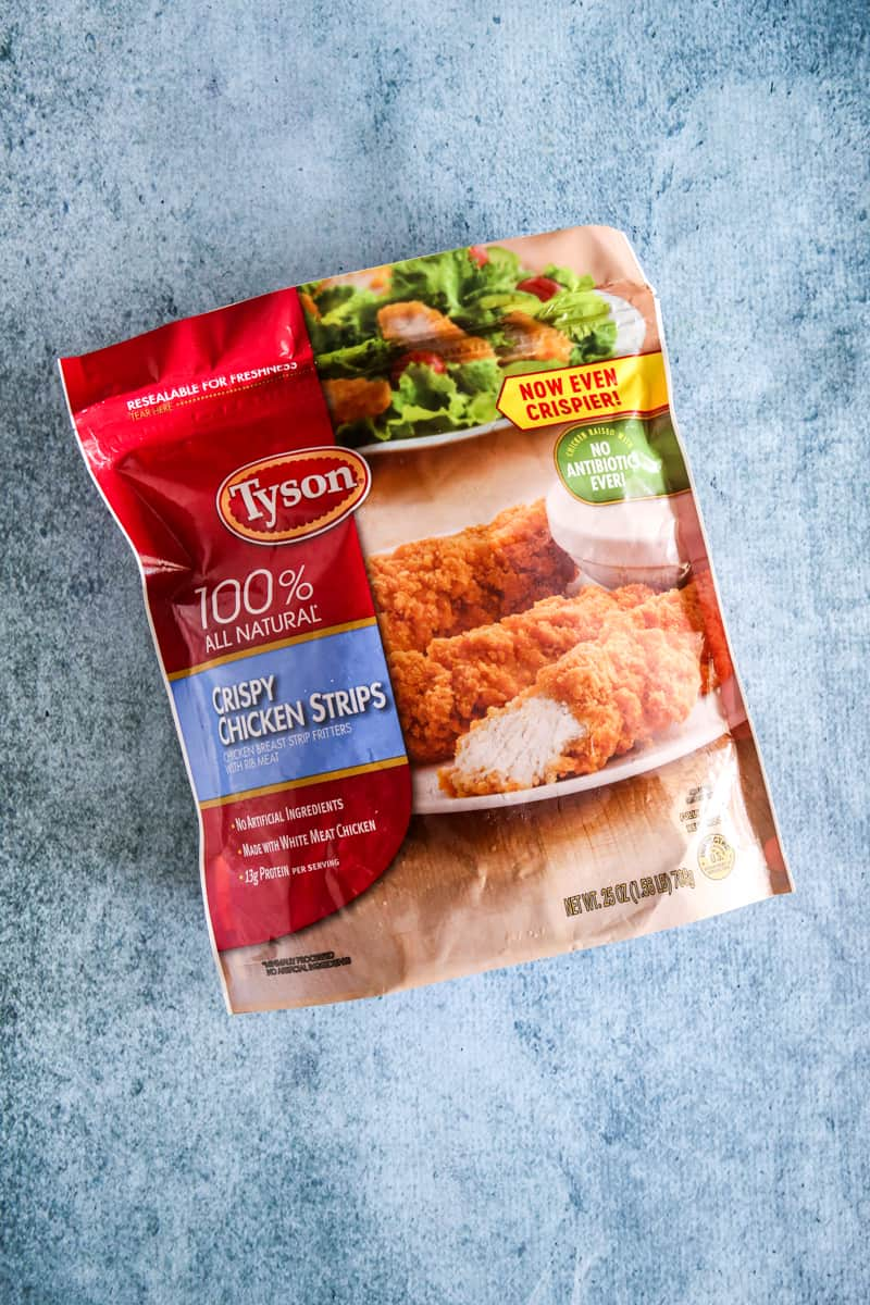 tyson chicken strip bag