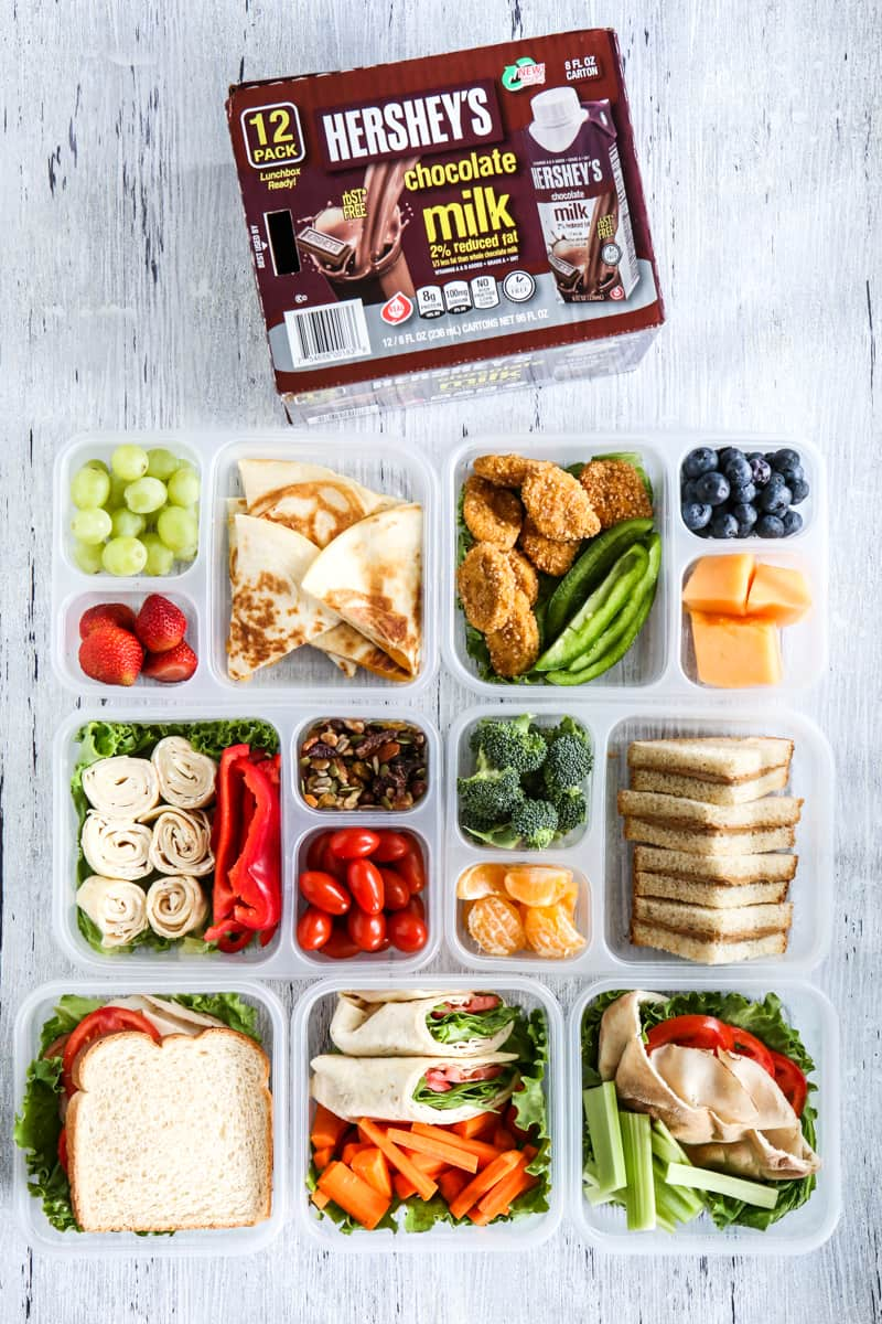 7 Make-Ahead School Lunch Ideas Recipe