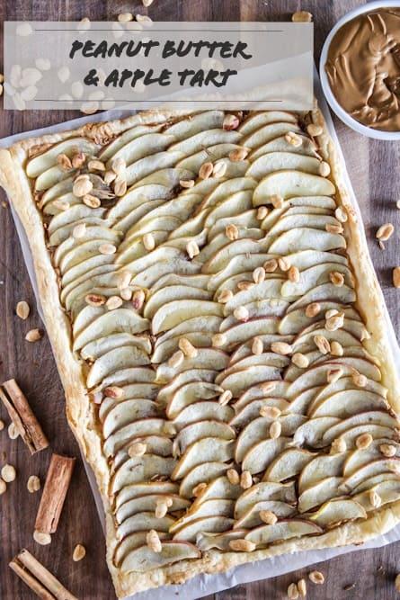 Peanut Butter and Apple Tart Recipe