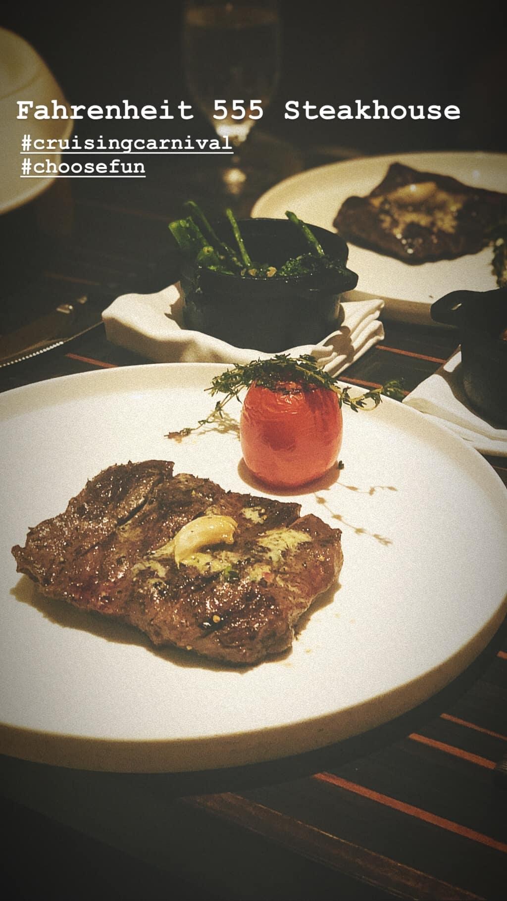 fahrenheit 555 steak