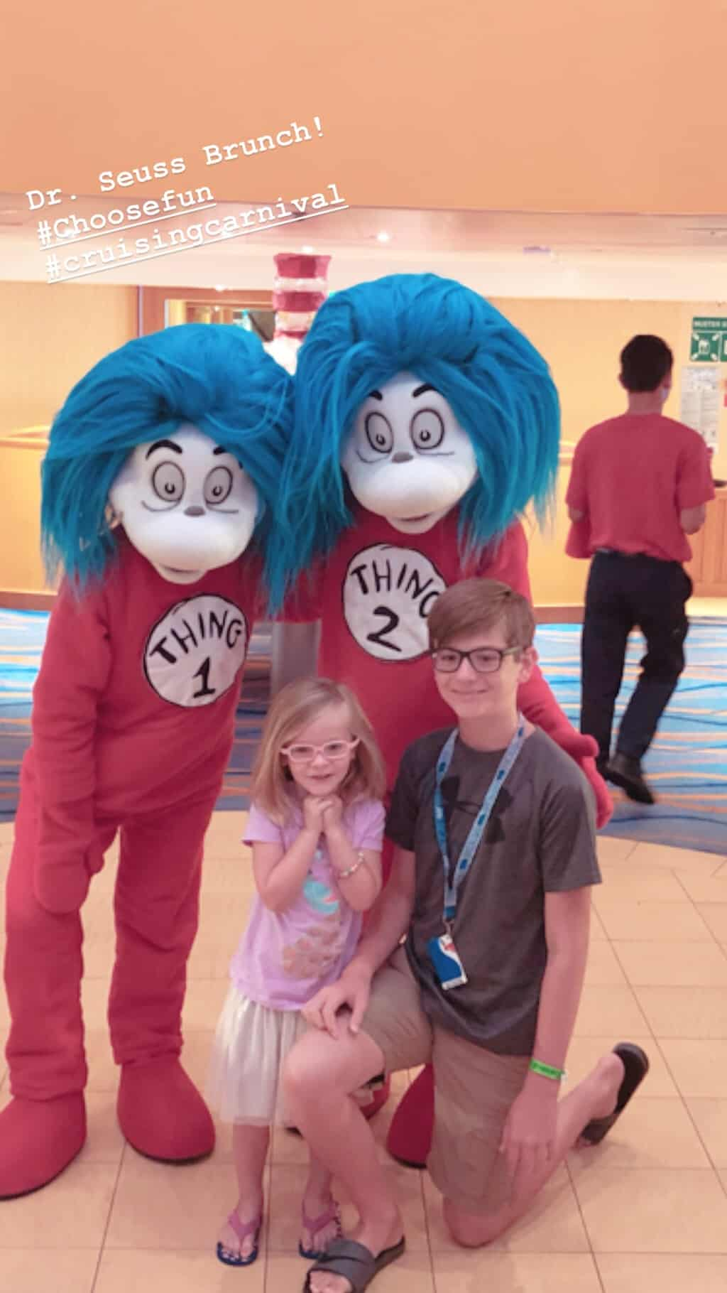 picture with thing 1 and thing 2
