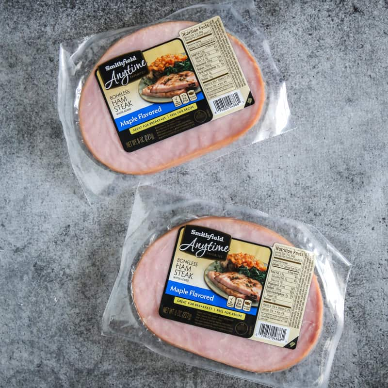 two smithfield ham packets
