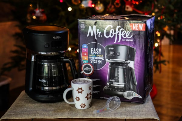 mr coffee coffee pot and box