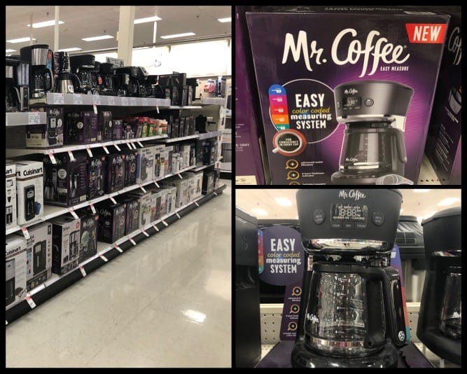 mr coffee maker where to find in store