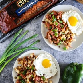BBQ Rib Hash by Eclectic Recipes