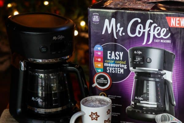 Eggnog Latte Recipe and the NEW Mr. Coffee® Easy Measure 12 Cup Programmable Coffee Maker Recipe