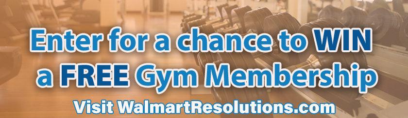 gym membership logo at Walmart