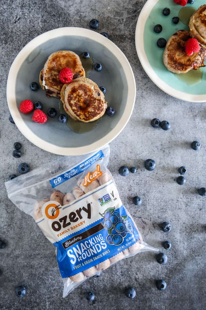 Ozery Snacking rounds blueberry